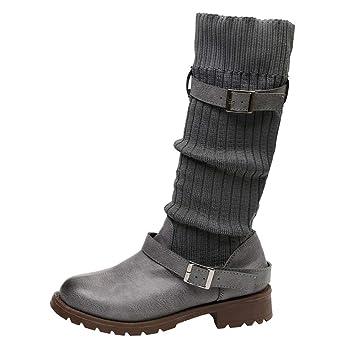6cdb3741fd9b4 Amazon.com: Dacawin Vintage Women Leather Martin Boots Winter Keep ...