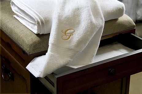 Luxor Linens   Hand Towel Set   100% Egyptian Cotton Bathroom Hand Towel  Sets