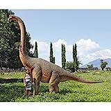 Design Toscano NE100055 Jurassic Sized Brachiosaurus Dinosaur Statue For Sale