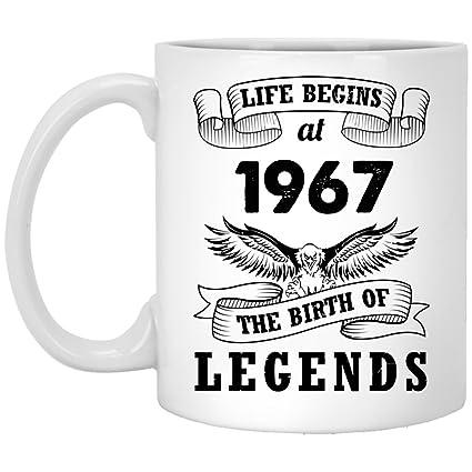 Amazon 51st Birthday Mug Gift For Man Girl Life Begins At