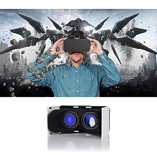 GenBasic Compact Folding Virtual Reality VR Headset - Light 3D Viewer for Android Cardboard and iPhone VR by GenBasic (Image #5)