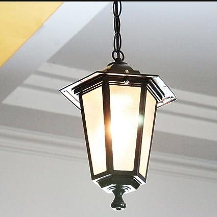 Pointhx Retro LED Lámpara de Techo Colgante Estilo Europeo ...
