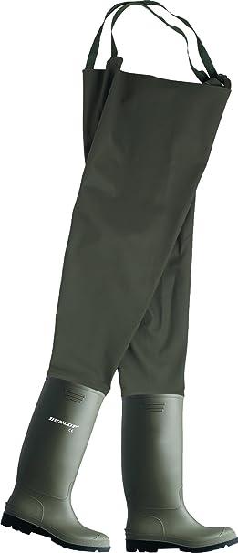 Dunlop hydroforce 1991 - agricoltore codolo e pescatori pantaloni verde 43 100% Autentico HOiJ1Wlwx