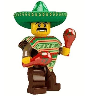 LEGO Series 2 - Minifigure Maraca Man: Toys & Games