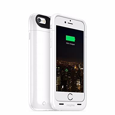 innovative design 7adf0 2a52e mophie juice pack for iPhone 6 Plus (2,600mAh) - White
