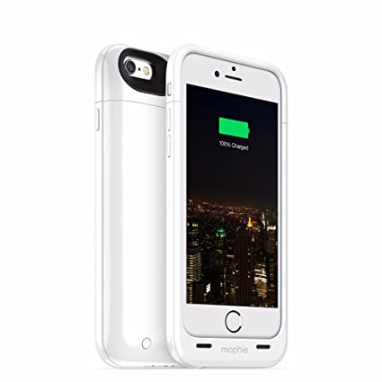 best loved b57fd b460b mophie juice pack Plus Battery Case for Apple iPhone 6 / iPhone 6s - White