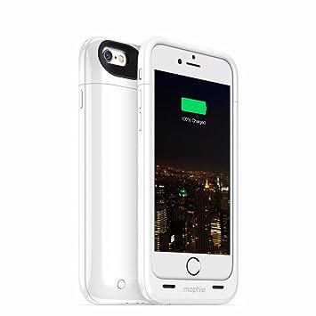 e50fe8bcb67 Mophie Juice Pack Plus - Carcasa con batería para Apple iPhone 6, 3300 mAh,  color blanco: Amazon.es: Electrónica