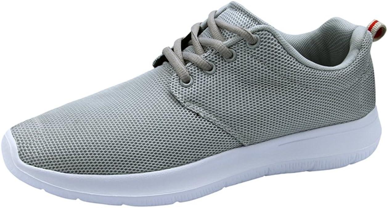 KALEIDO - Zapatillas de Running de Tela para Hombre, Color Gris, Talla 41.5: Amazon.es: Zapatos y complementos