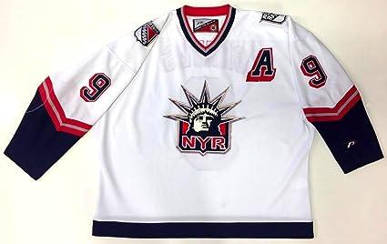 Adam Graves Original Pro Player New York Rangers 1998 quot liberty quot   Jersey Xxl d9c00a735