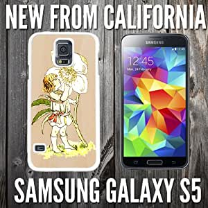 Flower Boy Fairy Life Custom made Case/Cover/skin FOR Samsung Galaxy S5 - White - Plastic Snap Case ( Ship From CA)