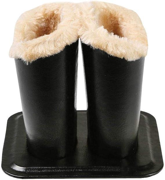 Protecteur Support de Rangement Domestique en Tissu Pu Avec Doublure en Peluche Moderne /étui Pour Lunettes Et Lunettes de Soleil styleinside Porte-lunettes Noir anti-rayures anti-poussi/ère