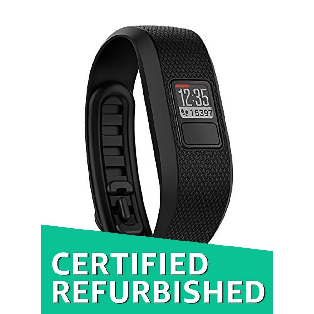 Garmin vivofit 3 Activity Tracker Regular fit Black Certified Refurbished