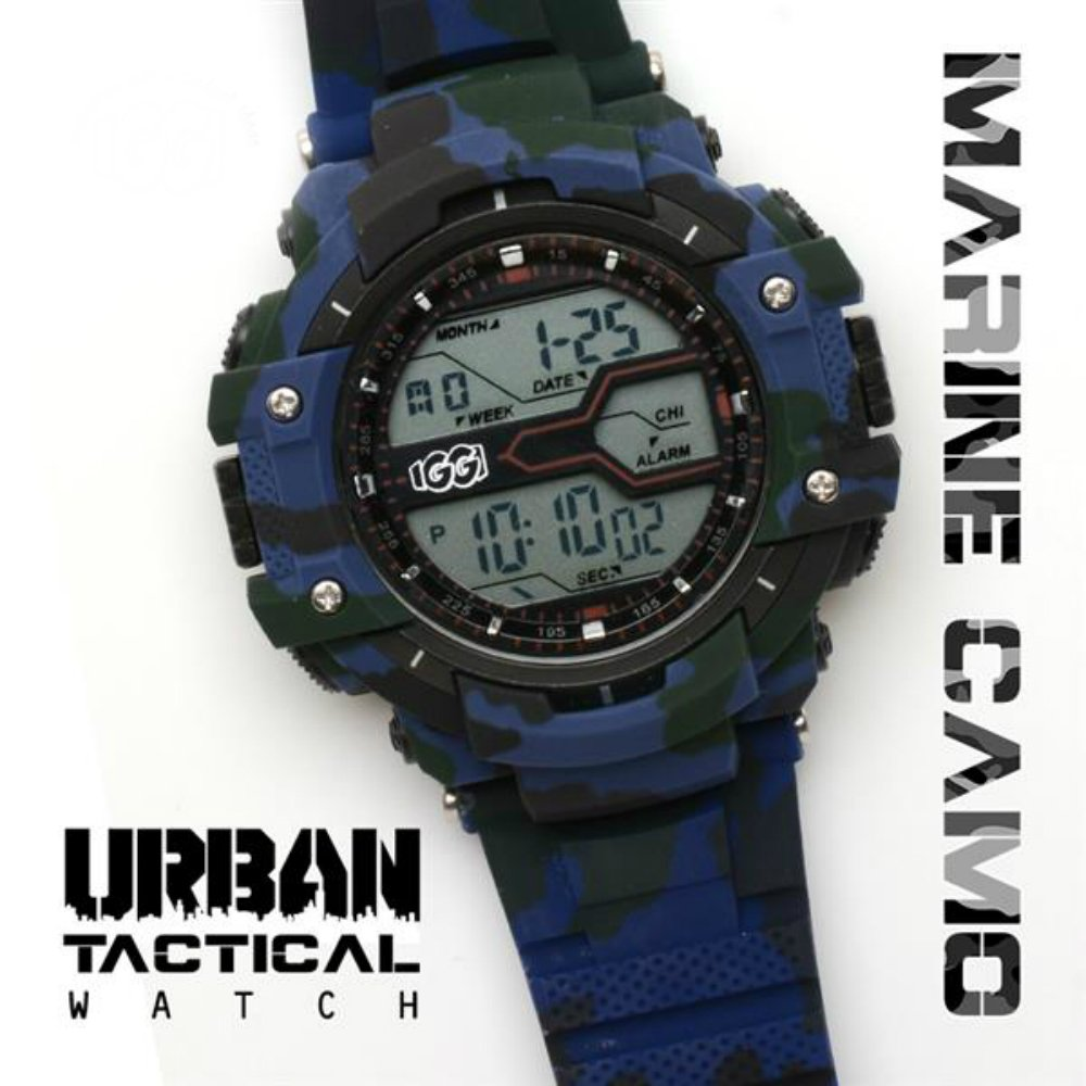IGGI Urban Tactical Watch - Marine Blue