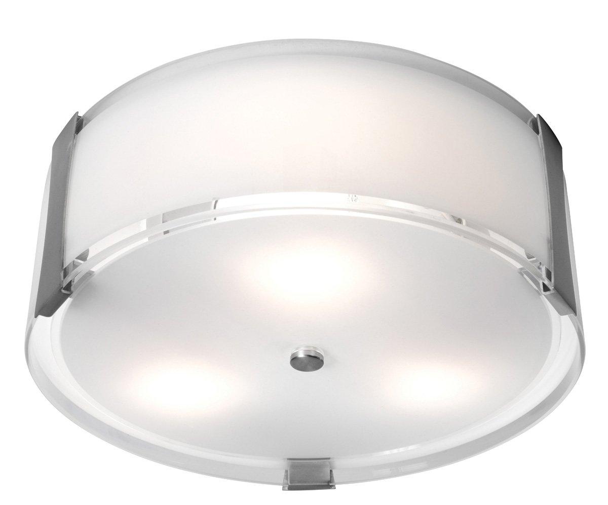Access Lighting 50120-BS/OPL 2 Light Tara Flush Mount Ceiling