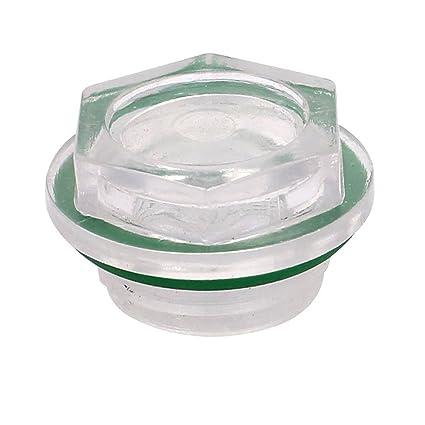 25mm verde arandela de goma del nivel de aceite Mirilla para el compresor de aire