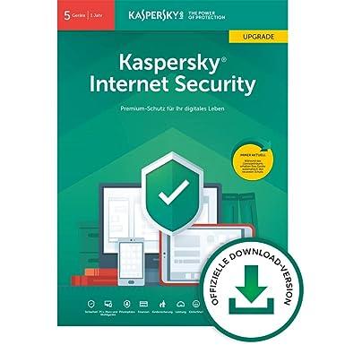 Kaspersky Internet Security 2019 Upgrade   5 Geräte   1 Jahr   Windows/Mac/Android   Download   Upgrade   5 Geräte   1 Jahr  