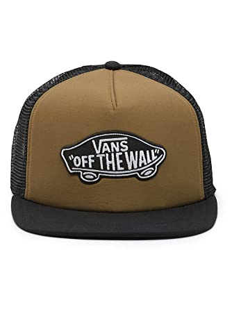 5f484af114a Vans Classic Patch Trucker Hat Tapenade Brown  Amazon.co.uk  Clothing