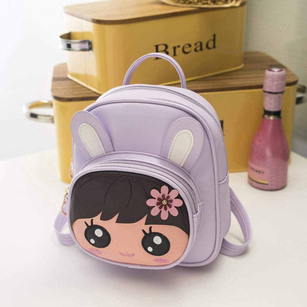 YangTrade 日本と韓国の漫画レディースバックパックかわいい子供用バッグ M B B07PK4F5B2