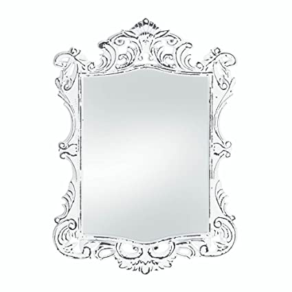 Amazon.com: Accent Plus Wall Mirrors Decorative, Square Antique ...