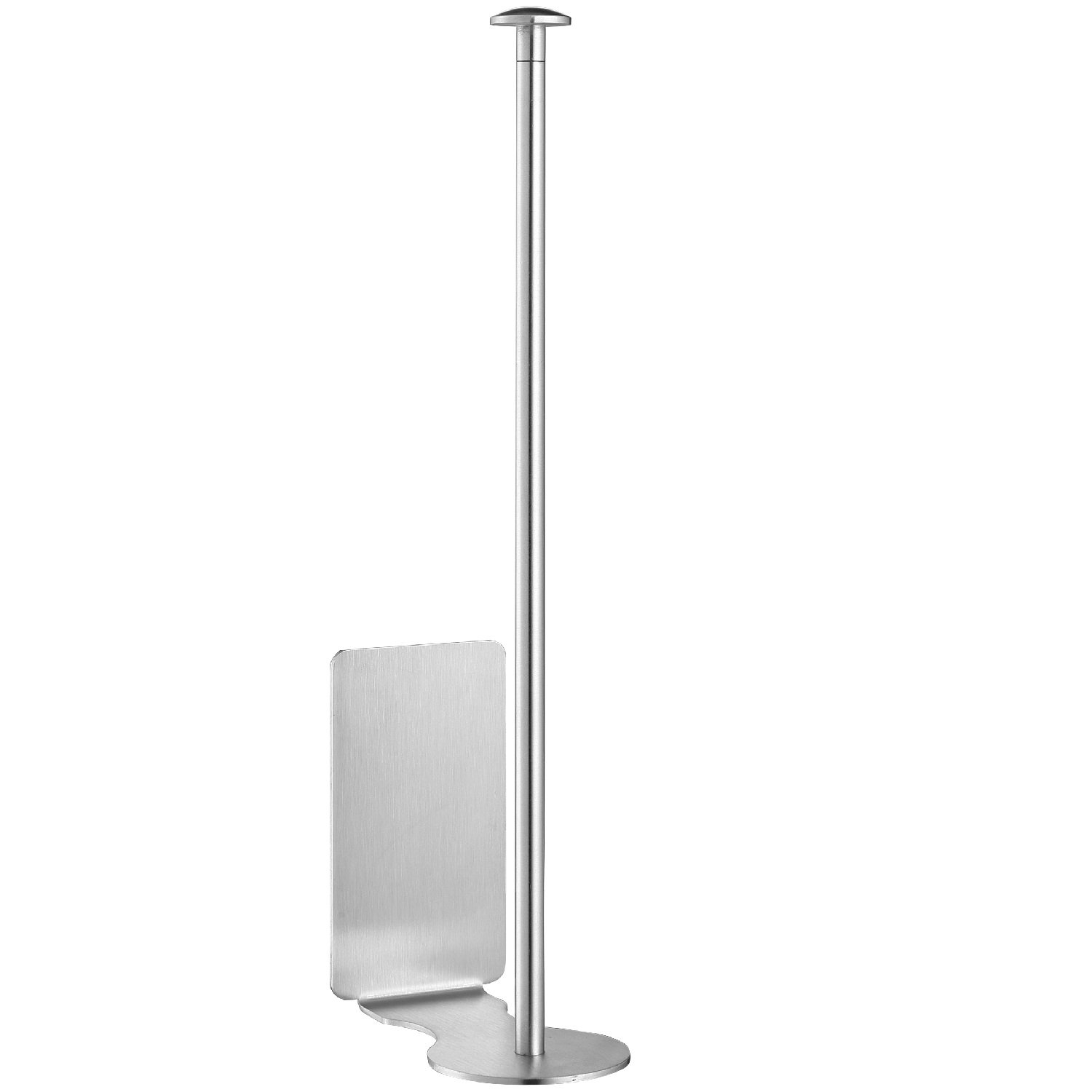Adhesive Paper Towel Holder for Kitchen Bathroom - TeenGo Wall Mount Nail Free Vertical Paper Towel Holder Easy Install