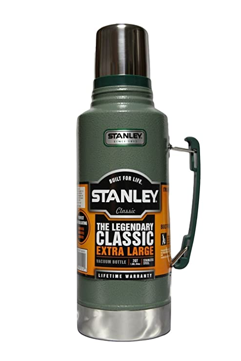 Stanley Classic the Legend Extra Large Vacuum Bottle 2 Qt Stainless Steel