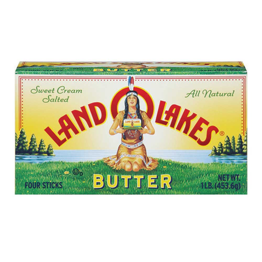 Land O Lakes Quarter Salted Butter, 4.4 Ounce -- 36 per case. by Land O Lakes