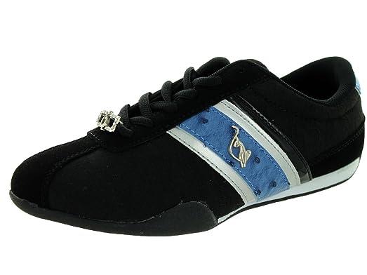 baby phat estelle  s fashion - baskets noir - fashion bleu db516d