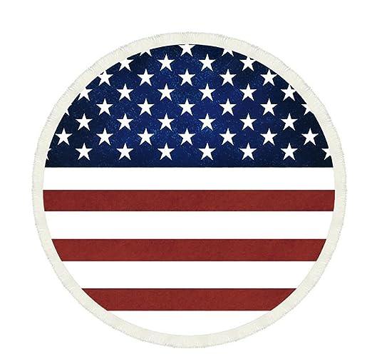 Bandera Americana 3d popular artesanía redondo Roundie ...