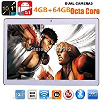 Generic 10.1 inch Tablet 2560X1600 IPS Octa Core RAM 4GB ROM 64GB 8.0MP 3G MTK6592 Dual sim card Phone Call Tablets PC Android 5.1 GPS