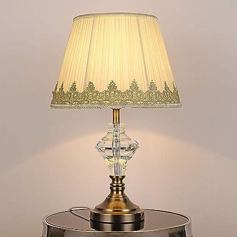 Lámpara de pie posmoderna Lámpara de mesa de cristal K9 ...