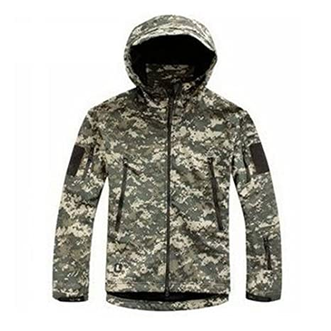 Waterproof Military Tactical Softshell Jacket Camouflage