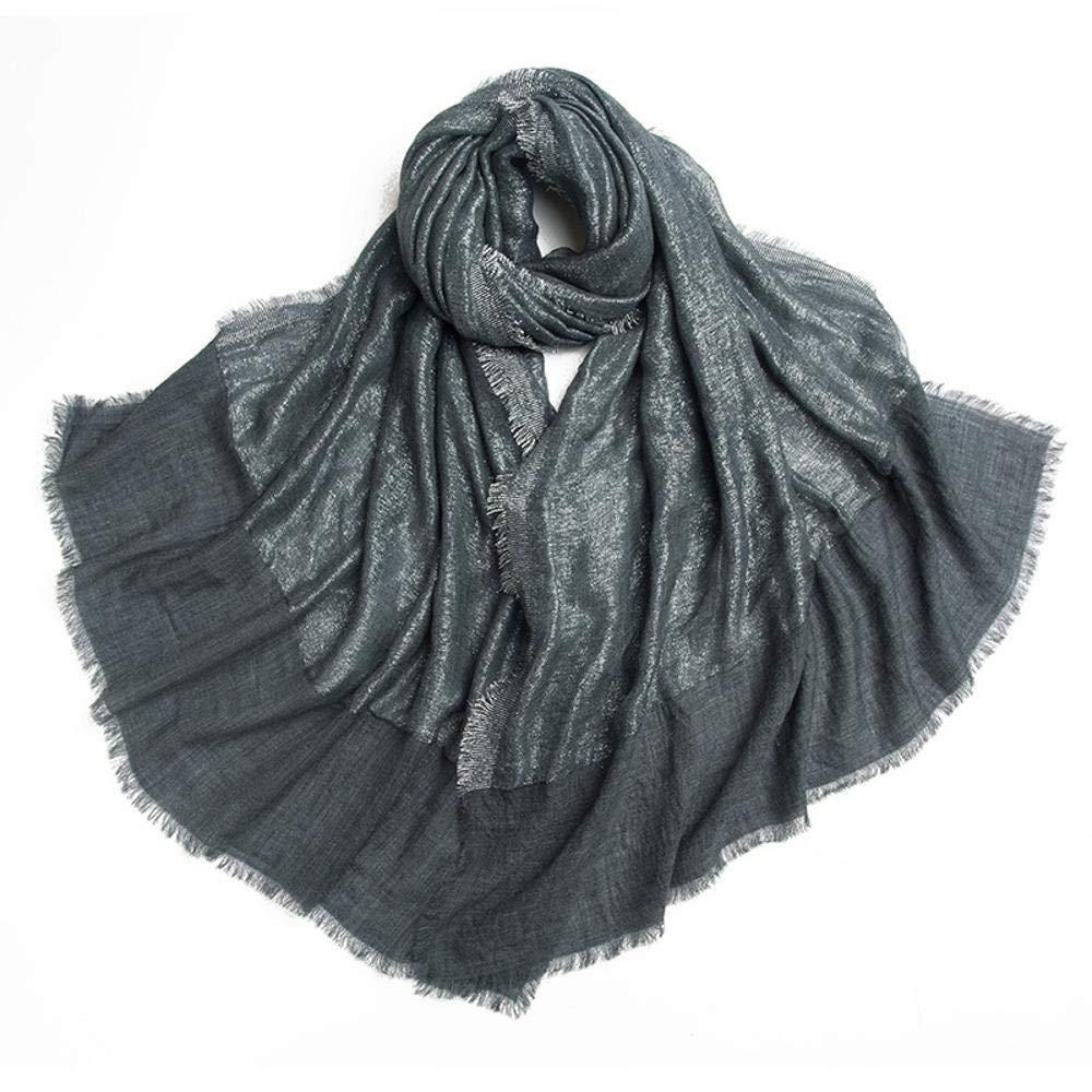 C Gquan Fashion Scarf Fashion Thickened ThreeStorey Design Elegant Ladies Fall Winter Shawl Warm Scarf Hundred Ride