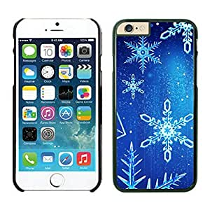 The Christmas Tree On Christmas Day Lovely Mobile Phone Protection Shell for iphone 6 Case-Unique Soft Edge Case(2015),Christmas snowflake iPhone 6 Case 1 Black