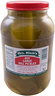 product image for LARGE HOT DILL PICKLES