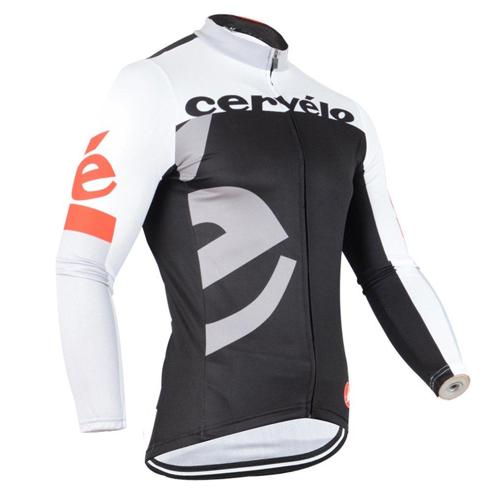 Strgao 2016 Men 's Pro Racing Team MTBバイク自転車サイクリング長袖ジャージージャケット B0190MG4OE Large C C Large