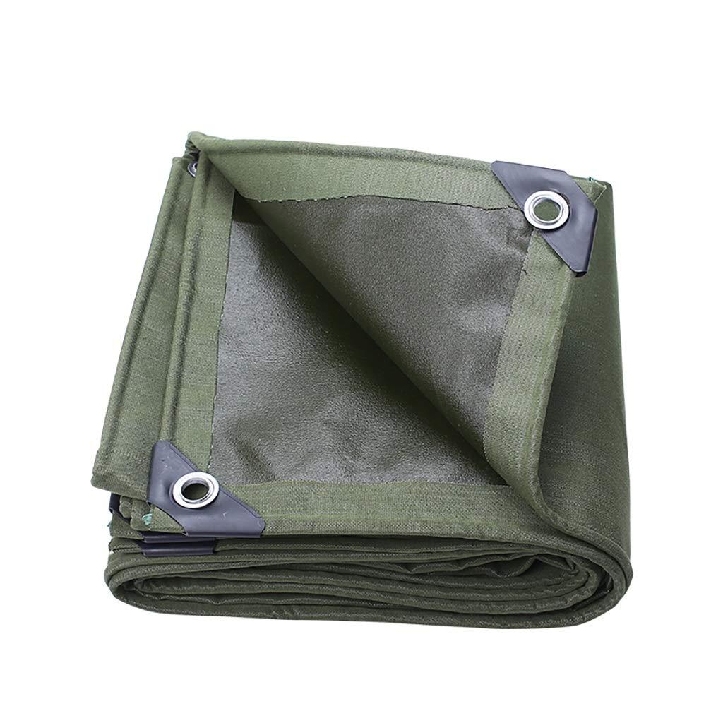 BÂche De Tente Tissu Oxford Imperméable Camping BÂche Tarp Idéal Pour Faire Du Camping, De La Randonnée Ou Pour Voyager à L'exté Olive (Taille   5m6m)  5m6m