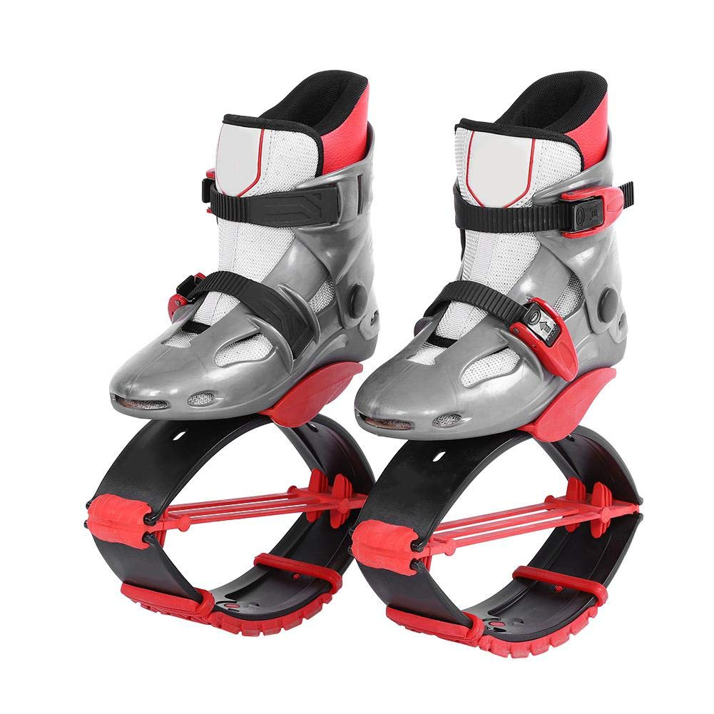 Alomejor Jumping Shoes Sports Kangaroo Boots Fitness Bouncing Shoes Kids Children Exercise Trainning Toys(36-38-Red) by Alomejor