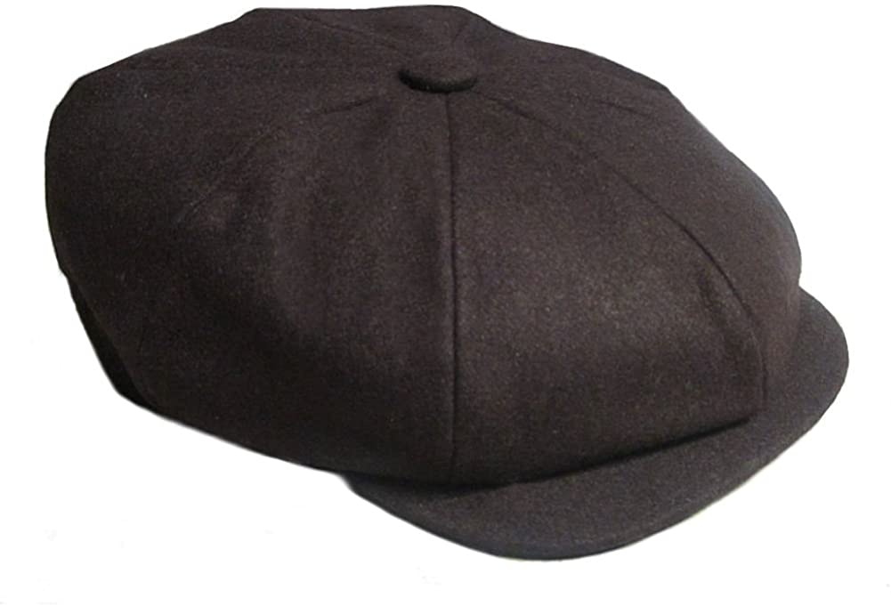 Denton Gatsby Wool Baker Boy Retro Cap
