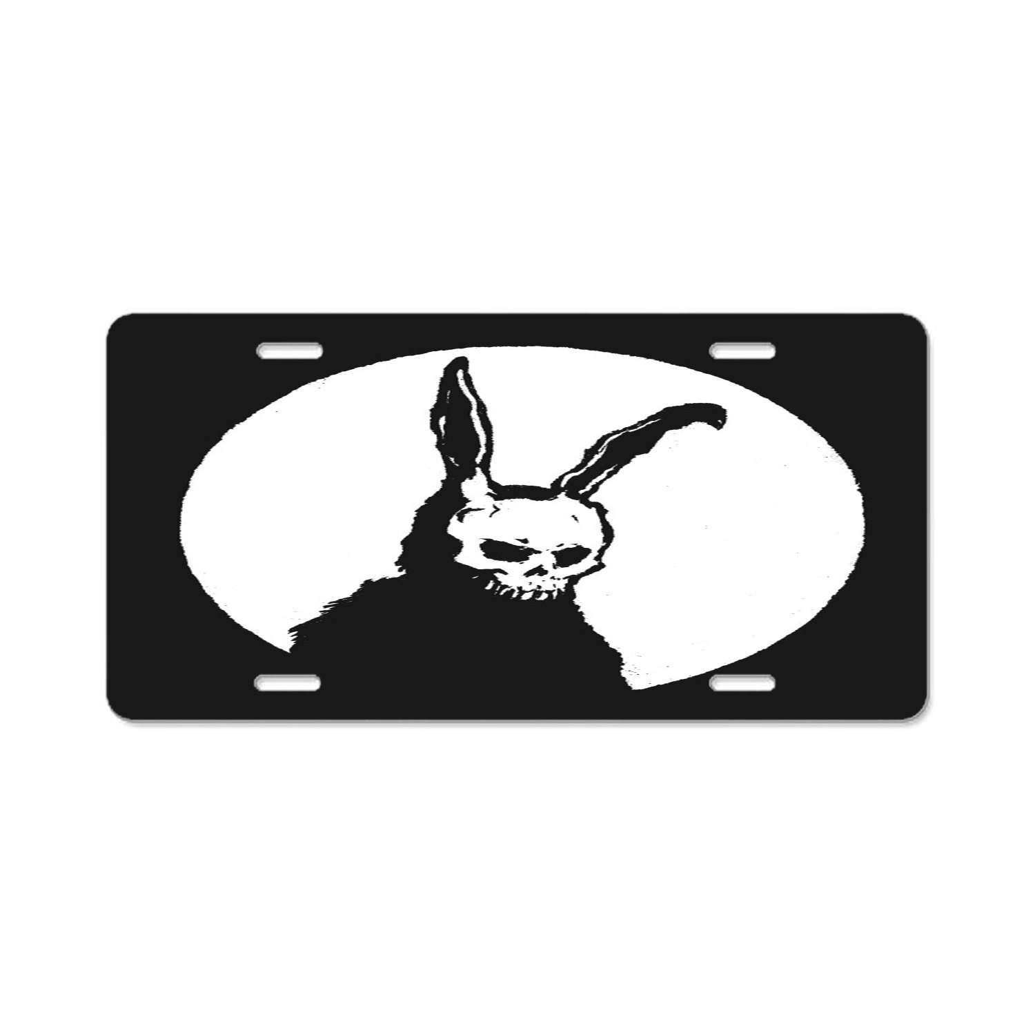Personalized Name On License Plate Rabbits and viola Custom Auto Car Tag Pulongpoq