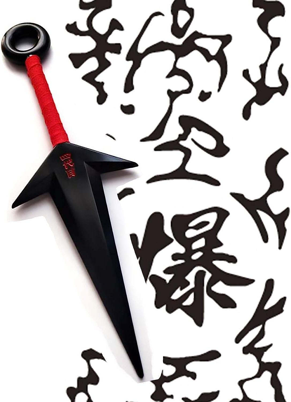 BMARLF Ninja Cosplay Big Kunai 1 Piece Props Plastic Toy Ninja Themed Costume