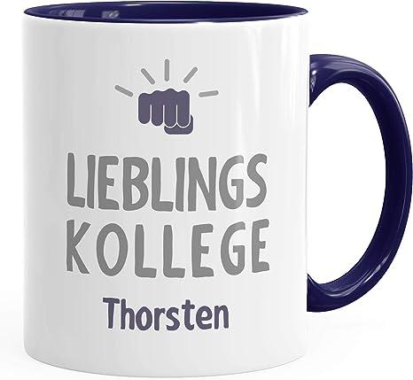 personalisierte Kaffee-Tasse Lieblings mit Namen Namenstasse SpecialMe®