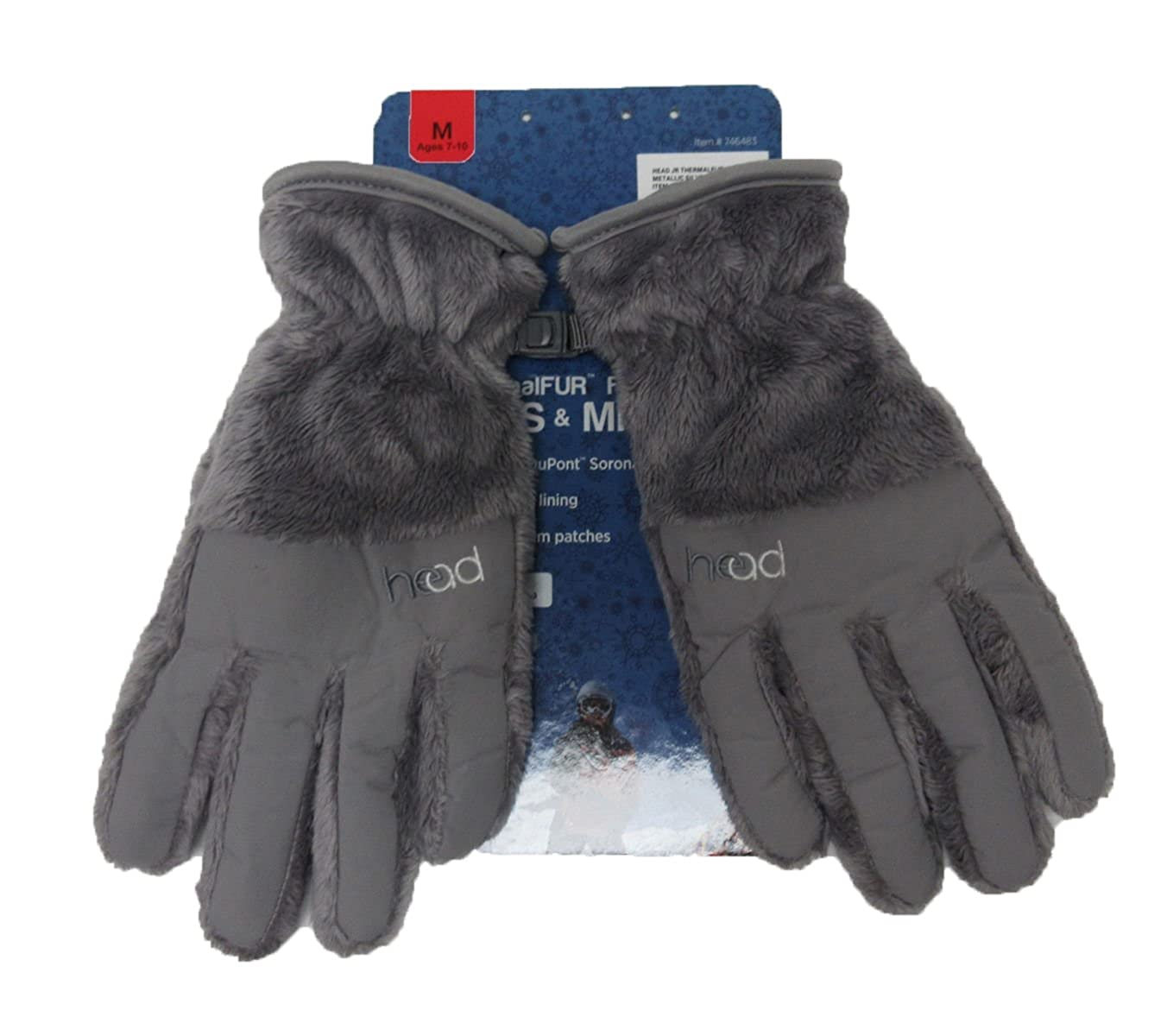 HEAD ThermalFUR Fleece Gloves - Child Size 746483