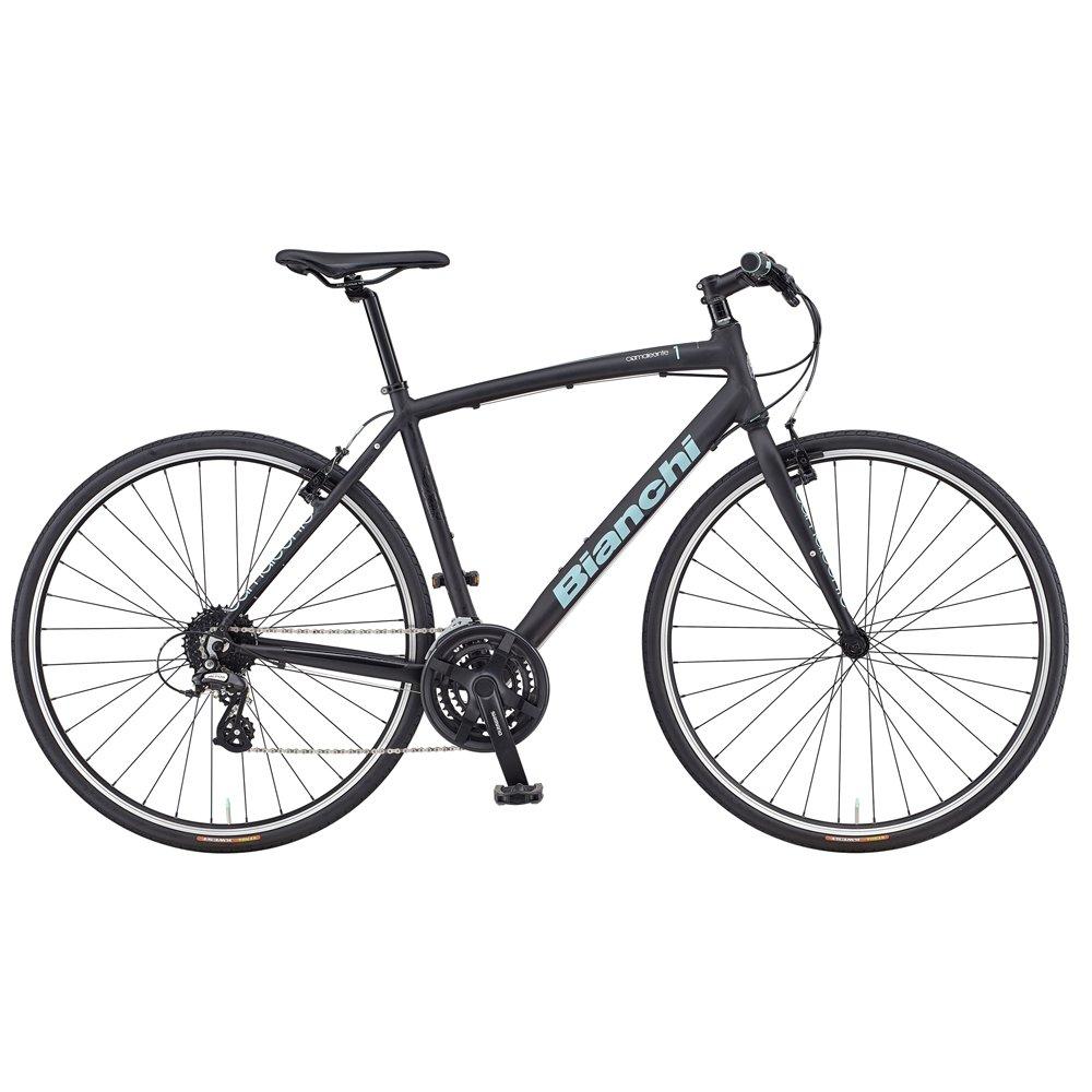 ビアンキ(BIANCHI) クロスバイク Camaleonte-1 Matt Black 43サイズ B07BF7X2M3