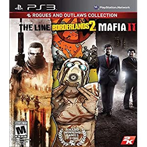 Rogues and Outlaws Collection: Spec Ops The Line, Borderlands 2, Mafia 2
