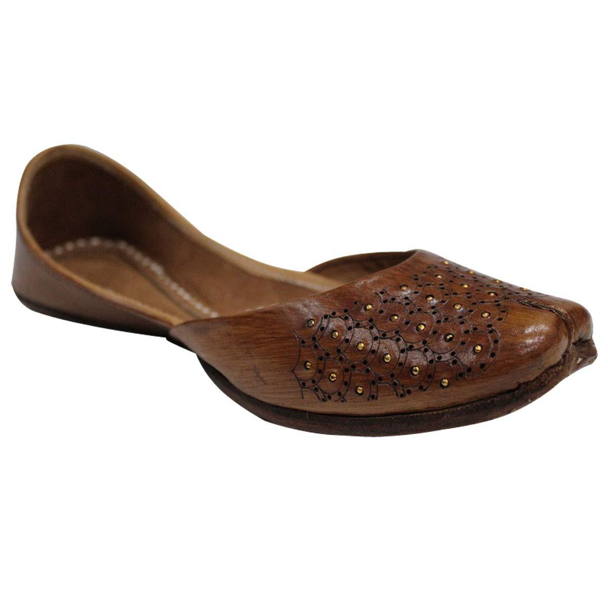Stop n Style Punjabi Shoes Indian Jutti Ethnic Shoes Handmade Shoes Punjabi Jutti Leather Jutti