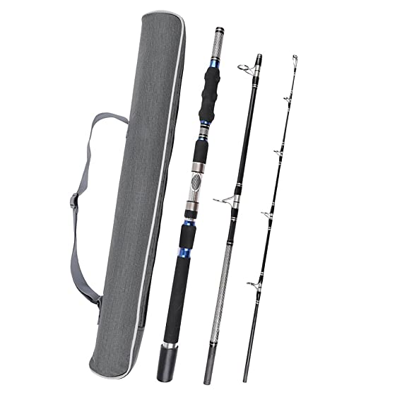 Review Fiblink 3-Piece Spinning Rod