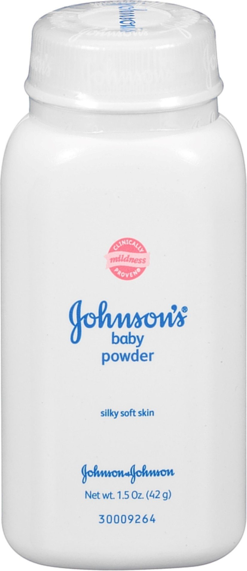 JOHNSON'S Baby Powder, Travel Size 1.50 oz (Pack of 5) by Johnson's