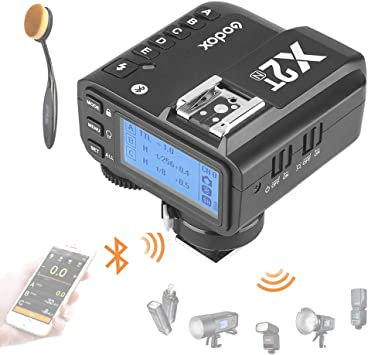 Bluetooth Connection 1//8000s HSS New Hotshoe Locking Godox X2T-N TTL Wireless Flash Trigger for Nikon 5 Separate Group Buttons Relocated Control-Wheel TCM Function New AF Assist Light