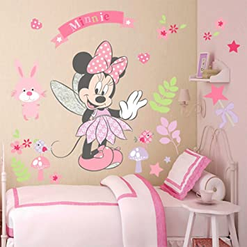 Disneyu0027s Minnie Mouse Wall Sticker