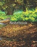 trending modern garden design Notebook: Peaceful Creek